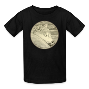 Kid's Shiba Inu T-shirt Husky Dog Art Kid's Shirts - Kids' T-Shirt