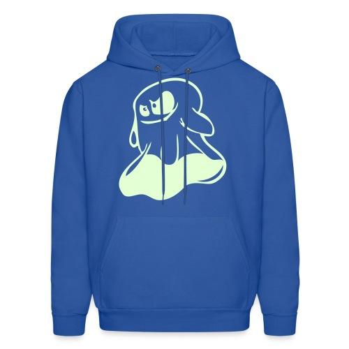 Booo' Bitch!!!-Men's Hooded Sweatshirt ((Glow-In-The-Dark) - Men's Hoodie