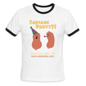 Salami Day: Sausage Party?! - Men's Ringer T-Shirt
