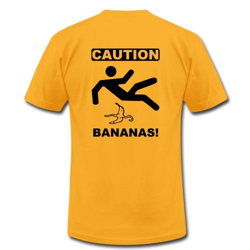 Caution, Bananas! - Men's Fine Jersey T-Shirt