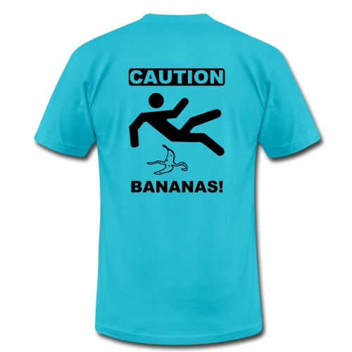 Caution, Bananas! - Men's Fine Jersey T-Shirt