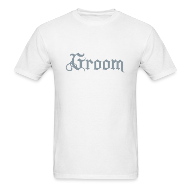 White Groom tattoo style T-Shirts