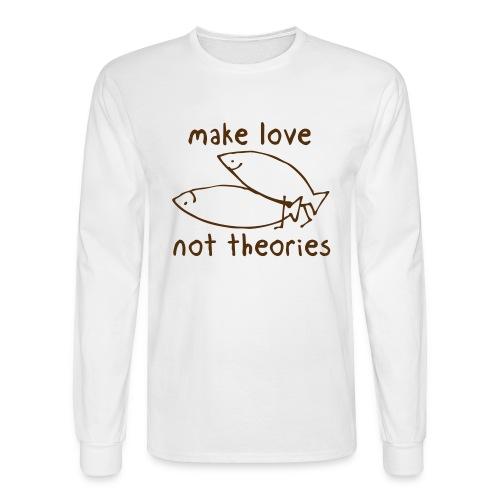 Fishionary Position - Men's Long Sleeve T-Shirt