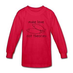 Fishionary Position - Kids' Long Sleeve T-Shirt
