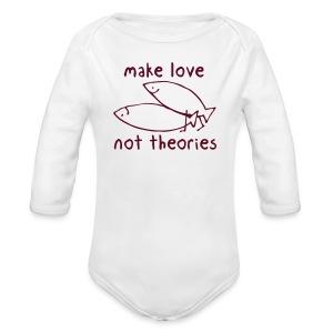 Fishionary Position - Long Sleeve Baby Bodysuit