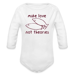Fishionary Position - Long Sleeve Baby Bodysuit