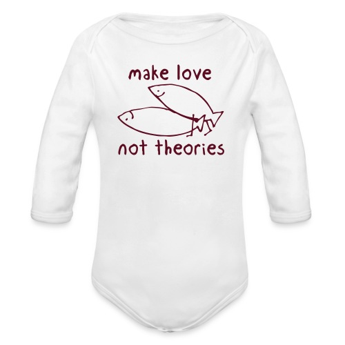 Fishionary Position - Organic Long Sleeve Baby Bodysuit