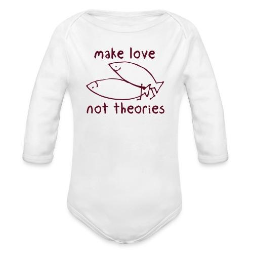 Fishionary Position - Organic Long Sleeve Baby Bodysuit