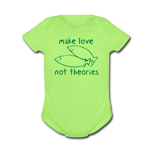 Fishionary Position - Organic Short Sleeve Baby Bodysuit
