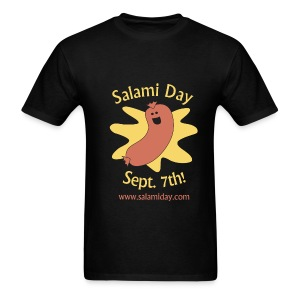 Salami Day: Happy Salami - Men's T-Shirt