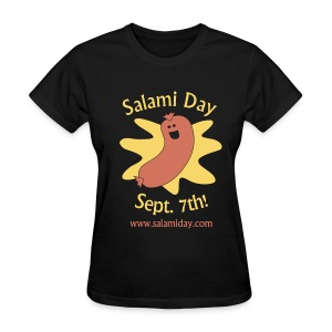 Salami Day: Happy Salami - Women's T-Shirt