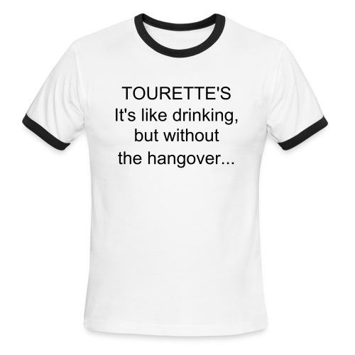 Tourette - Men's Ringer T-Shirt
