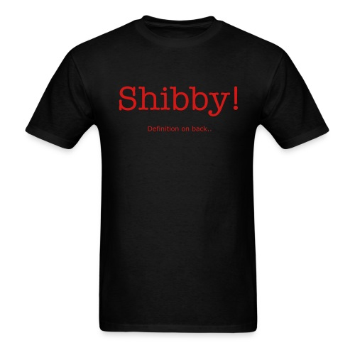 Shibby Definition tee - Men's T-Shirt