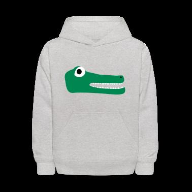 Heather grey Crocodile Sweatshirts