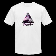 T-Shirts ~ Men's T-Shirt by American Apparel ~ Party Ben Mystical Unicorn