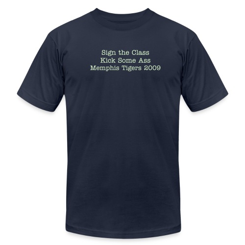 sign the class - Men's Fine Jersey T-Shirt