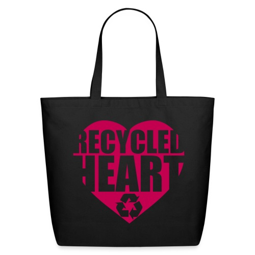 Recycle my heart - Eco-Friendly Cotton Tote