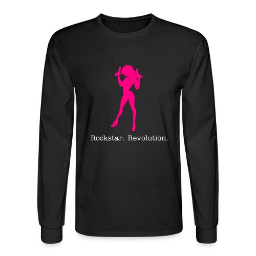 Rockstar Revolution - Men's Long Sleeve T-Shirt