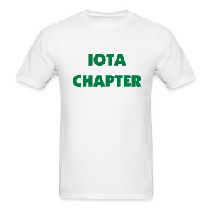 Iota Chapter Tee Shirt (color changeable) - Men's T-Shirt