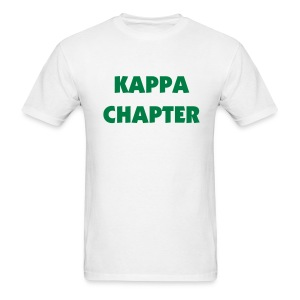 Kappa Chapter Tee Shirt (color changeable) - Men's T-Shirt