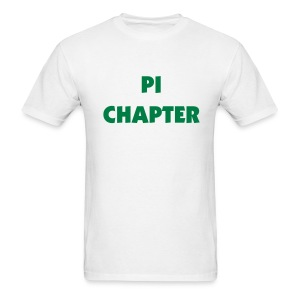 Pi Chapter Tee Shirt (color changeable) - Men's T-Shirt