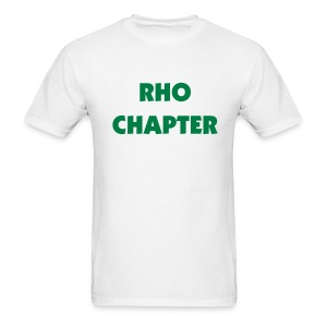 Rho Chapter Tee Shirt (color changeable) - Men's T-Shirt