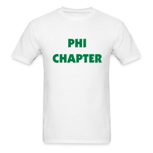 Phi Chapter Tee Shirt (color changeable) - Men's T-Shirt