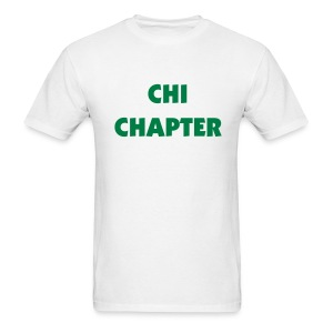 Chi Chapter Tee Shirt (color changeable) - Men's T-Shirt