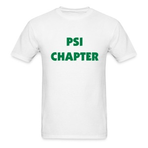 Psi Chapter Tee Shirt (color changeable) - Men's T-Shirt