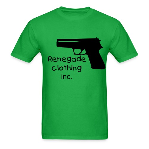 renegade clothing gun T-Shirt - Men's T-Shirt