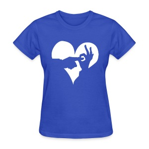 I (Heart) WDC (Girls) - Women's T-Shirt