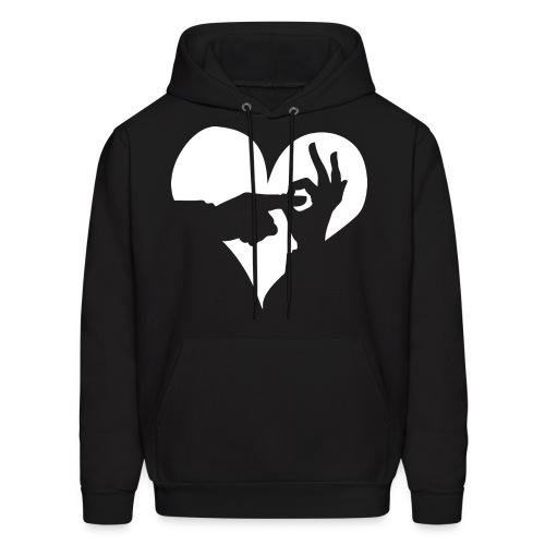 I (Heart) WDC Hoodie - Men's Hoodie