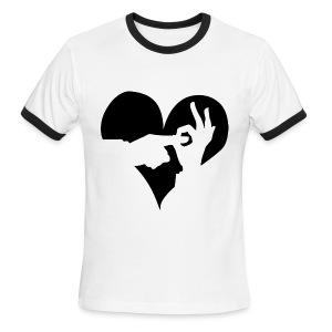 I (Heart) WDC Ringer Tee (Guys) - Men's Ringer T-Shirt