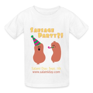 Salami Day: Sausage Party?! - Kids' T-Shirt