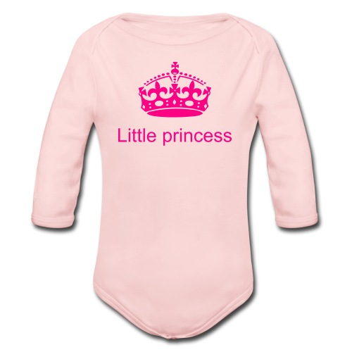 GOD'S DAUGHTER - Organic Long Sleeve Baby Bodysuit