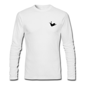 Fly Cat - Men's Long Sleeve T-Shirt by Next Level