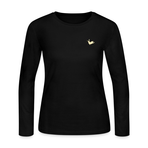 Fly Cat - Women's Long Sleeve Jersey T-Shirt