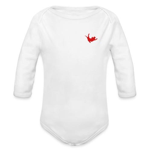 Fly Cat - Organic Long Sleeve Baby Bodysuit