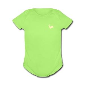 Fly Cat - Short Sleeve Baby Bodysuit