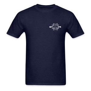 Station 81 Job Shirt-Navy - Men's T-Shirt