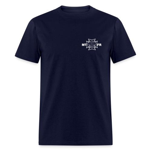 Station 81 Job Shirt-Navy - Men's T-Shirt