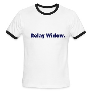 Relay Widow T-Shirt - Men's Ringer T-Shirt