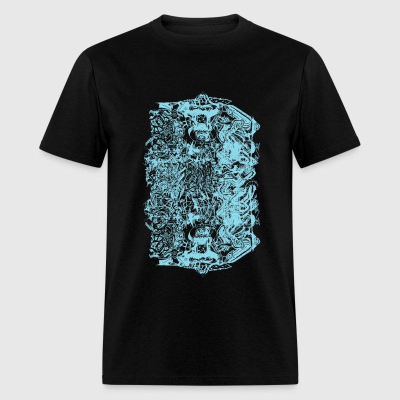 Cool Baby Blue Graffiti Design T Shirt Spreadshirt