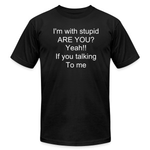 stupidness - Men's Fine Jersey T-Shirt