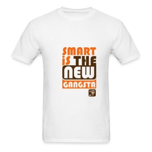 Smart is the new gangsta Tee- Mens - Men's T-Shirt