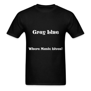 Mens Where Music Lives Tee Shirt - Men's T-Shirt