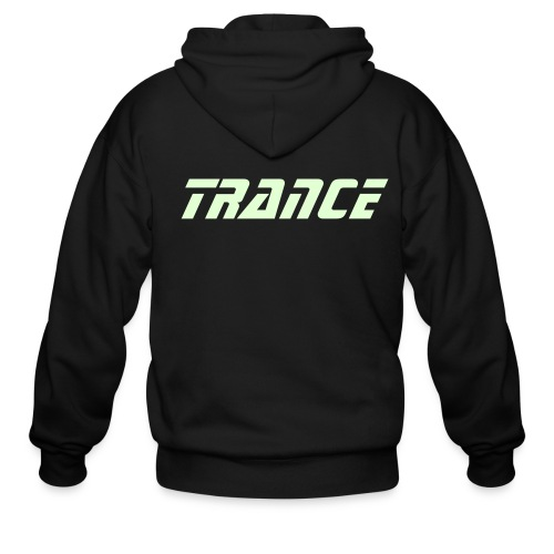 Trance - Glow in the dark - Men's Zip Hoodie