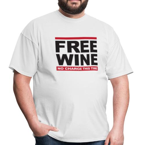 Free wine - Men's T-Shirt