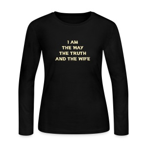 Wife - Women's Long Sleeve Jersey T-Shirt
