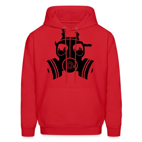 ONE NATION UNDER A MIC RED HOODIE - Men's Hoodie